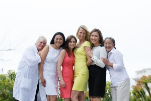 Dr. Karen Horton and her all-woman Plastic Surgery office team in San Francisco