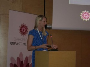 Dr. Horton is an invited guest lecturer at international symposiums such as the Barcelona Breast Meeting. Although she is one of few women speakers, she is treated just the same as the other Faculty!