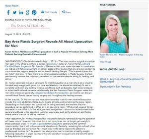 liposuction,plastic surgeon in san francisco,male liposuction,candidates for liposuction