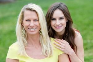 Dr. Karen Horton with Emily Sespaniak, FNP-C