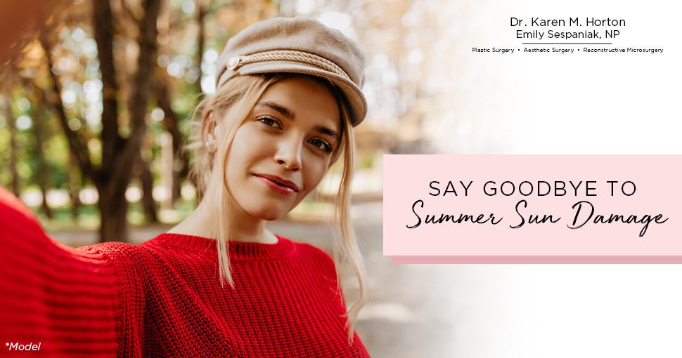 Say Goodbye to Summer Sun Damage